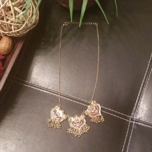 Jewelry - Gold Necklace with Pendants
